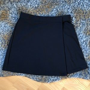 American Apparel black wrap skirt